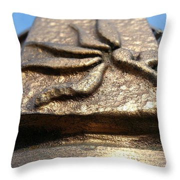 Buckeye Collar Throw Pillow