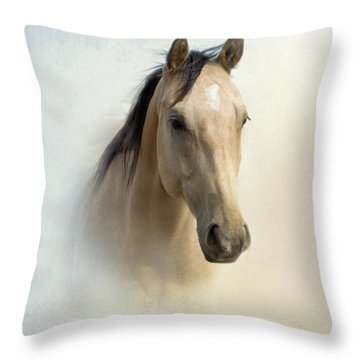 Buckskin Beauty Throw Pillow