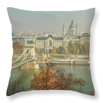 Budapest, Hungary Throw Pillow