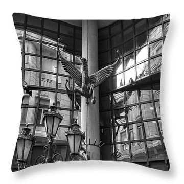 Budapest Reflections Throw Pillow