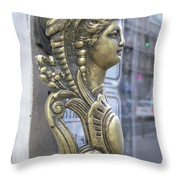 Budapestlady Throw Pillow