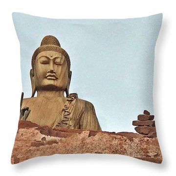Buddha 1 Throw Pillow