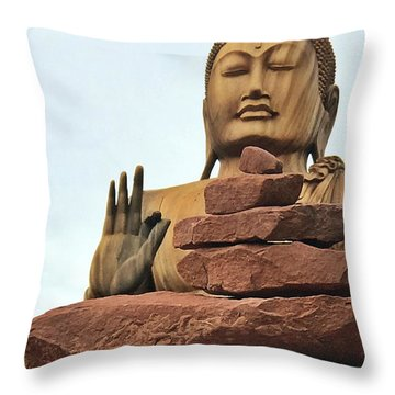 Buddha 2 Throw Pillow