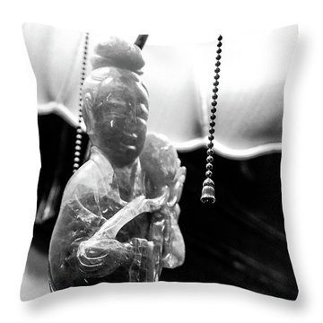 Buddha's Light Throw Pillow