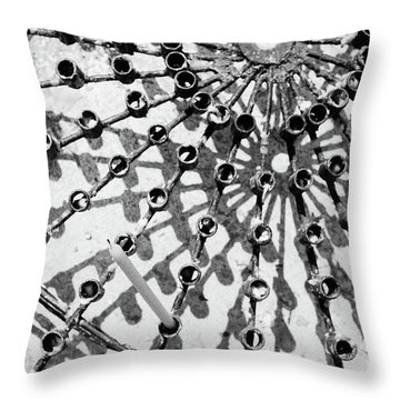 Buddhist Geometry Throw Pillow