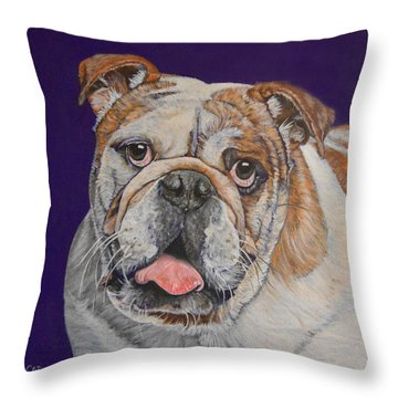 Buddy Throw Pillow