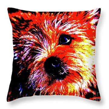 Buddy Throw Pillow by Xn Tyler