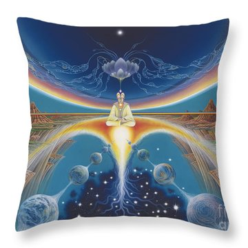Budhistic Dreams Throw Pillow