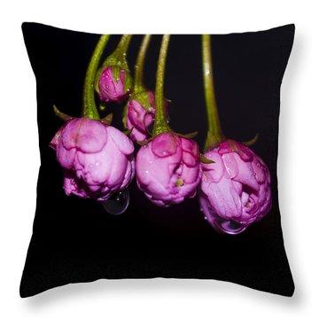 Buds Throw Pillow by Svetlana Sewell