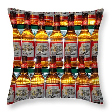 Budweiser Throw Pillow