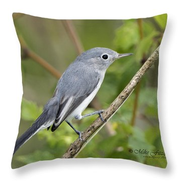 Bue And The Gray Throw Pillow