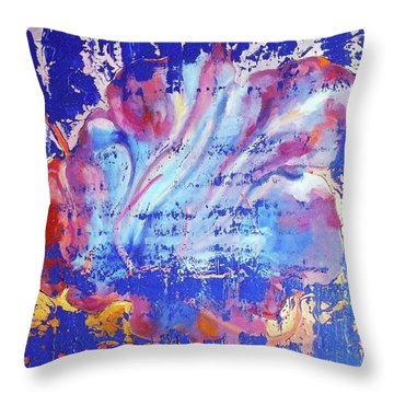 Bue Gift Throw Pillow