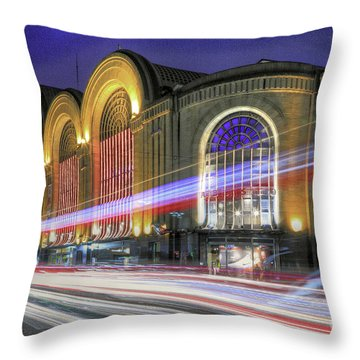 Buenos Aires 002 Throw Pillow by Bernardo Galmarini
