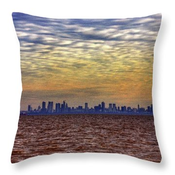 Buenos Aires 014 Throw Pillow by Bernardo Galmarini