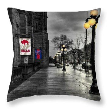 Buffalo Bills Throw Pillows