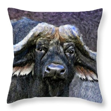 Buffalo Throw Pillow