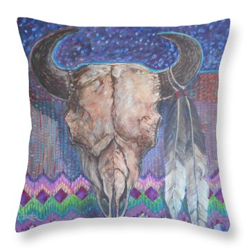 Lynn Burton Throw Pillows