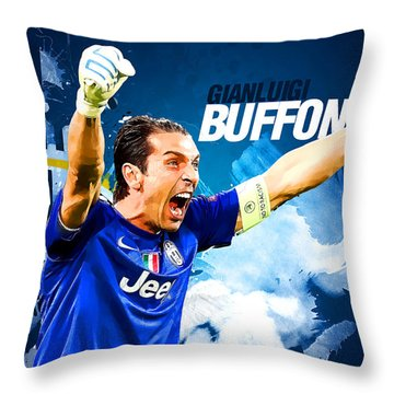 Buffon Throw Pillow