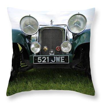 Bug Eye Jaguar Throw Pillow