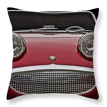 Bug-eyed Sprite Throw Pillow by Douglas Pittman
