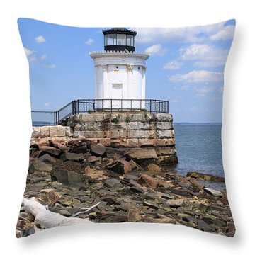 Bug Lighthouse Throw Pillow