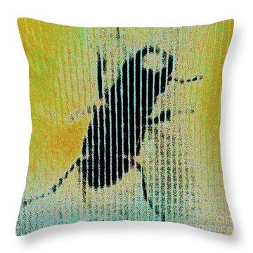 Bug2 Throw Pillow