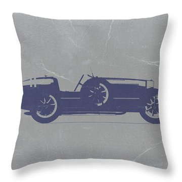 Bugatti Type 35 Throw Pillow