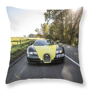 Bugatti Veyron Supersport Throw Pillow