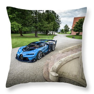 Bugatti Vision Gt Throw Pillow