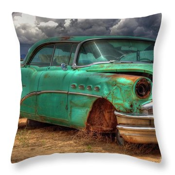 Buick Super Throw Pillow