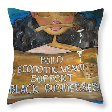 Build Throw Pillow