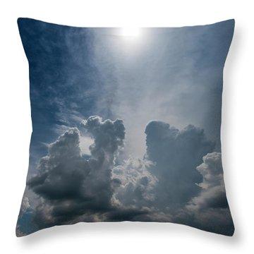Building Tcu Throw Pillow