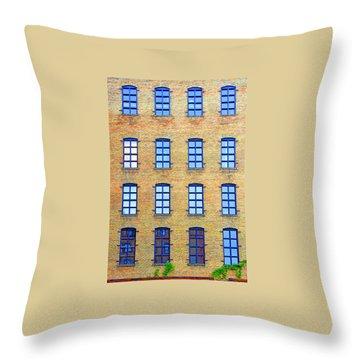 Building Windows Throw Pillow