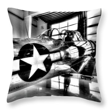 Built For Speed Throw Pillow