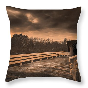 Built In 1883 Movie Clint Eastwood Throw Pillow
