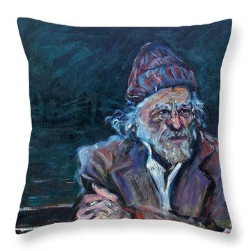 Bukowski Throw Pillow