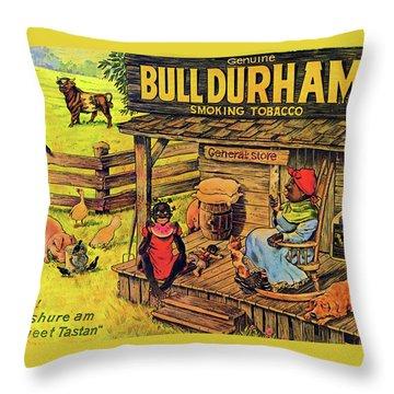 Bull Durham My It Shure Am Sweet Tastan Throw Pillow