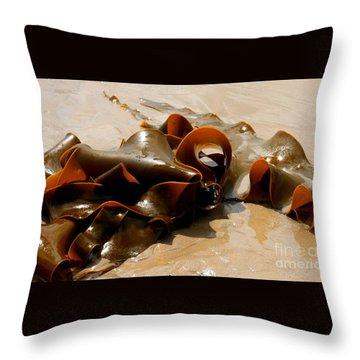 Bull Kelp Throw Pillow