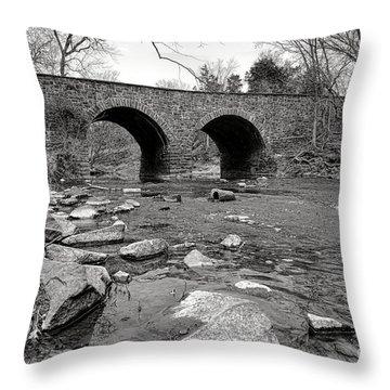 Civil War Site Throw Pillows