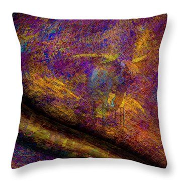 Throw Pillow featuring the photograph Bull Rust by Paul Wear