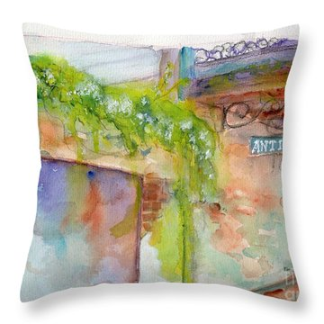 Bull Street Savannah Ga Throw Pillow