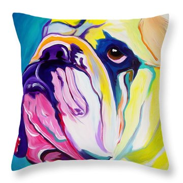 Bulldog - Bully Throw Pillow