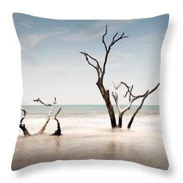 Bulls Island C-v Throw Pillow