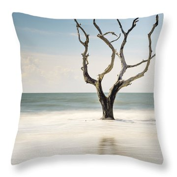 Bulls Island C-xii Throw Pillow