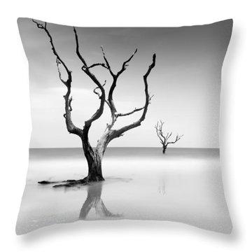 Boneyard Beach Xv Throw Pillow
