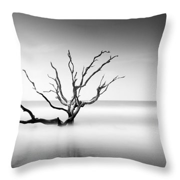 Boneyard Beach Vi Throw Pillow