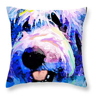 Bumble Bear Throw Pillow