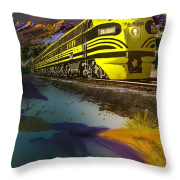 Bumble Bee F Unit Zephyr Throw Pillow