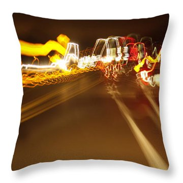 Bump Throw Pillow by Xn Tyler