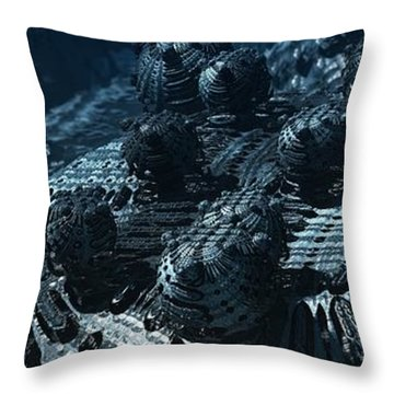 Bumps In The Night Throw Pillow